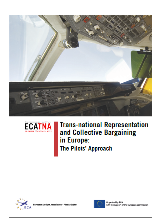 European Cockpit Association Eca: Transnational Representation And Collective Bargaining In