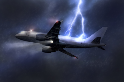 bad weather flying