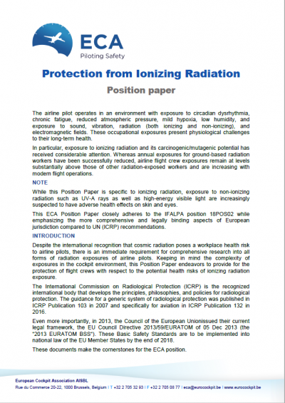 Protection from Ionising Radiation