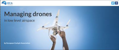 Managing drones in low level airspace